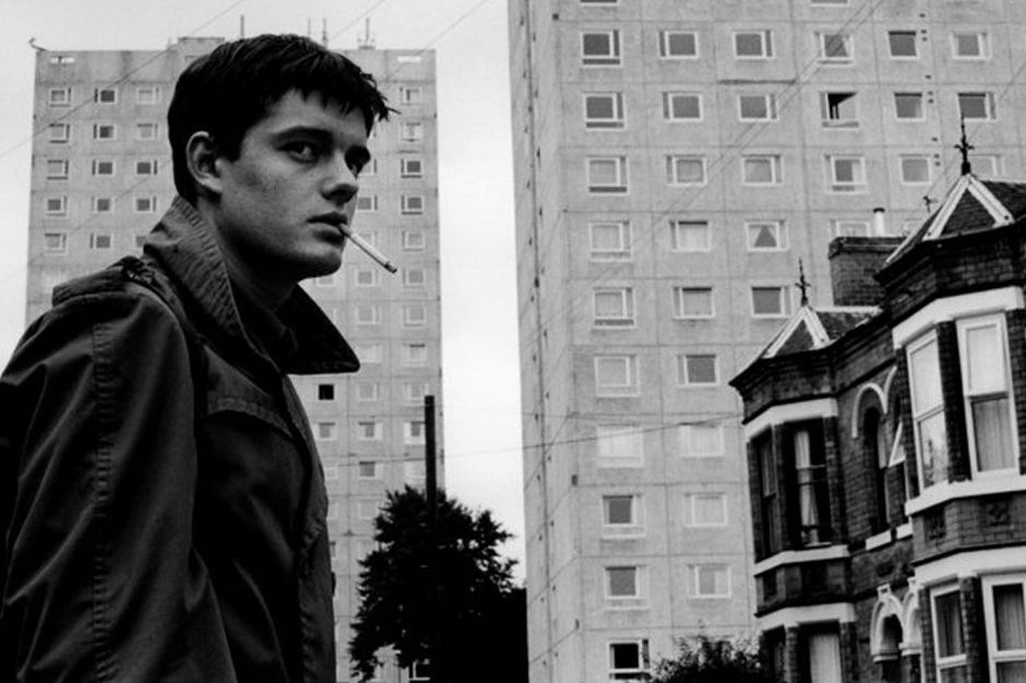 Ian Curtis smoking