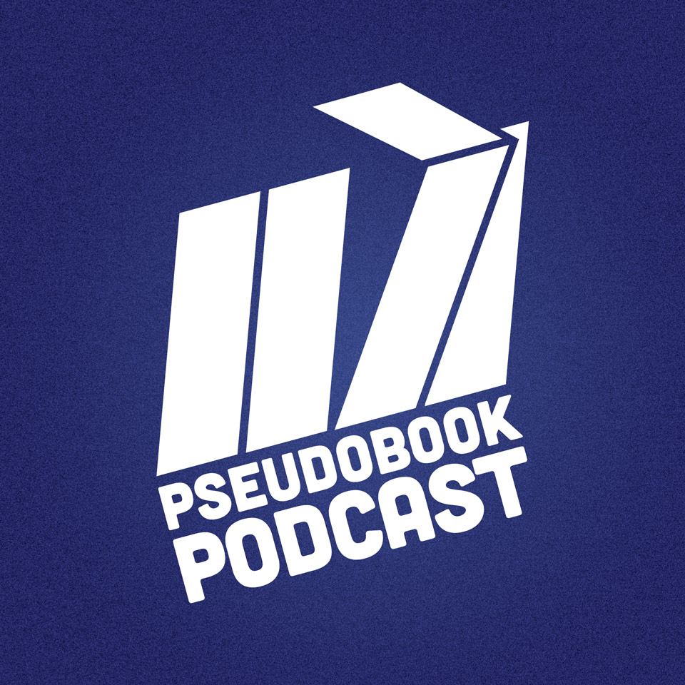 Pseudobook Podcast square logo